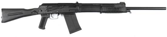Saiga Russian Pump shotgun.