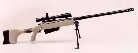 McMillan 87R sniper rifle .50 cal.