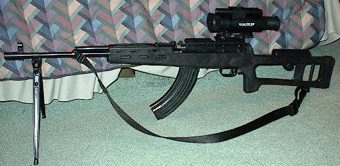 SKS Modified and Accessorized.