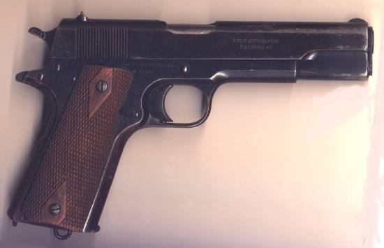 Colt Model 1911.