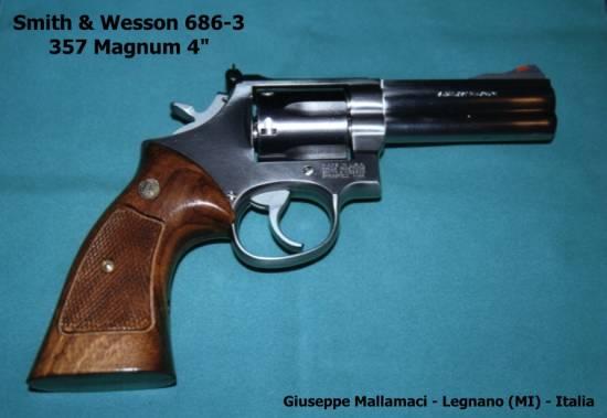S&W 686-3 Distinguished Combat 357 Magnum 4