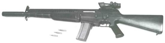 AAI ACR (5.56-NATO Flechette).