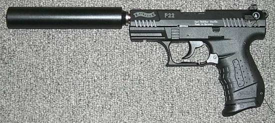 Walther P22 Suppressed
