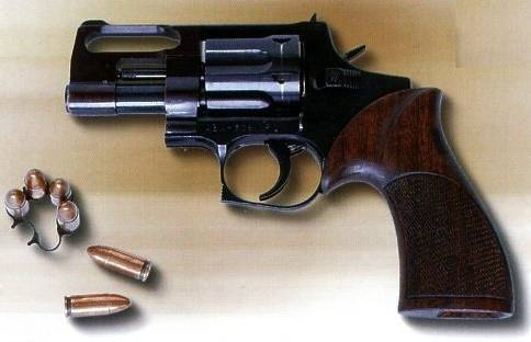 KOVROV AEK906 Russian revolver