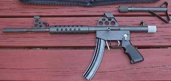 FEDERAL ENGINEERING CORPORATION .22 semiauto XC220 carbine.