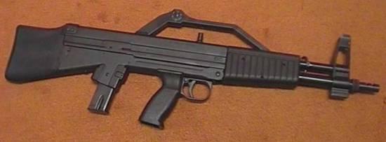 ALGIMEC AGMi 9mm semiauto carbine