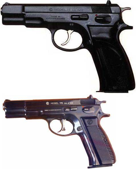 CZ 75 Military Model