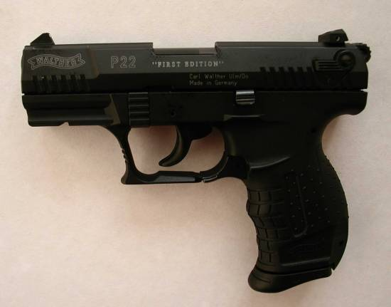 Walther P22 First Edition