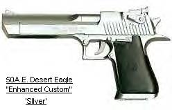 IMI Desert Eagle .50 AE Chrome