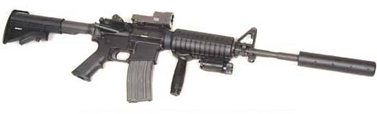 Colt M4 Suppressed