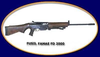 FAMAE FD2000 Chilean (Fabricas y Maestranzas del Ejercito)