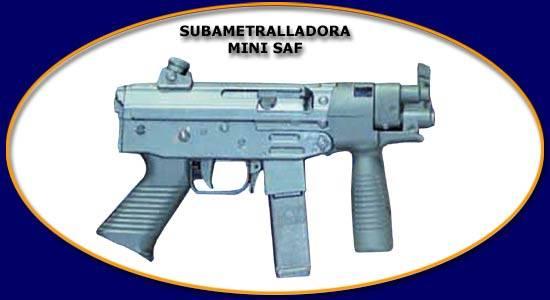 FAMAE Mini SAF 9mm (Chilean Fabricas y Maestranzas del Ejercito)