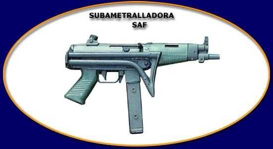 FAMAE SAF Folding Stock 9mm (Chilean Fabricas y Maestranzas del Ejercito)