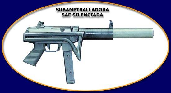 FAMAE SAF Suppressed 9mm (Chilean Fabricas y Maestranzas del Ejercito)