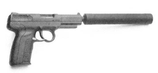 FN FiveSeven W/Laser & Suppressed