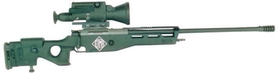Steyr-Mannlicher Precision Rifle SR100