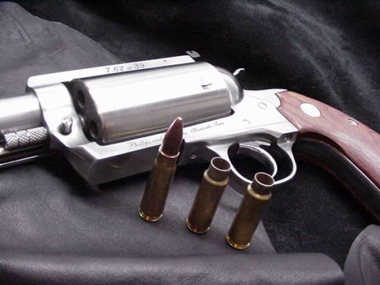 Revolver 7.62 X 39