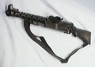 Chechoslovakian ZK383 9mm.