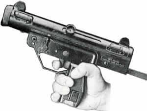 SIMA-CEFAR MGP semiauto combat handgun.
