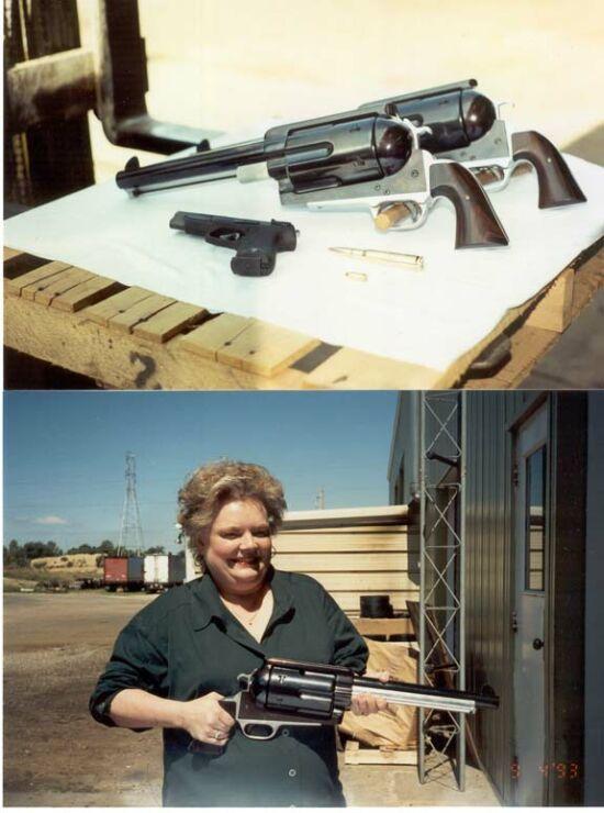 .50 Caliber Revolver Fake!