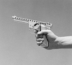 MBA Gyrojet Pistol