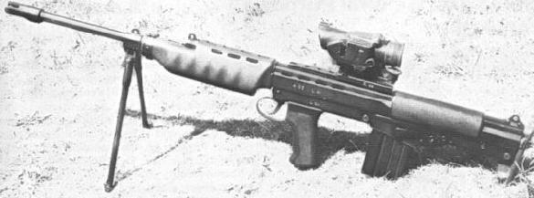 ENFIELD XL69E1 LIGHT MACHINE GUN