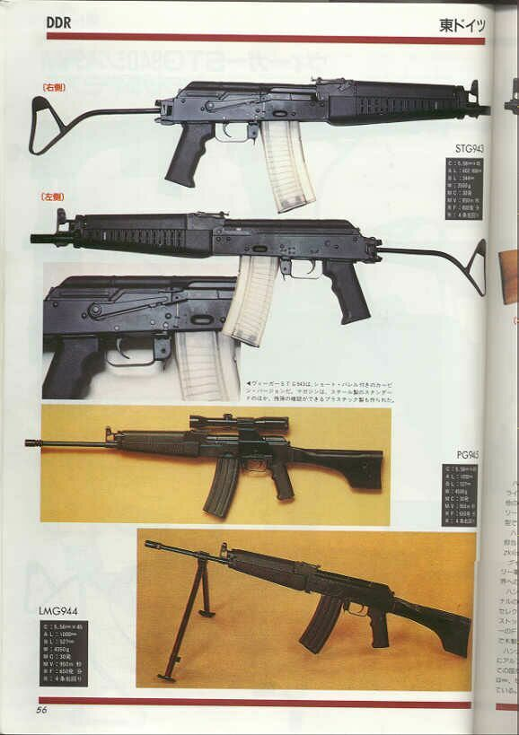 WIEGER STG-940 ASSAULT WEAPONS SYSTEM.