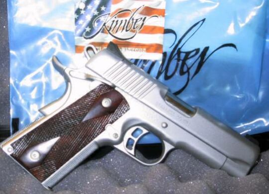Limited Edition Kimber Stainless Covert, Only 1000 made in 1999