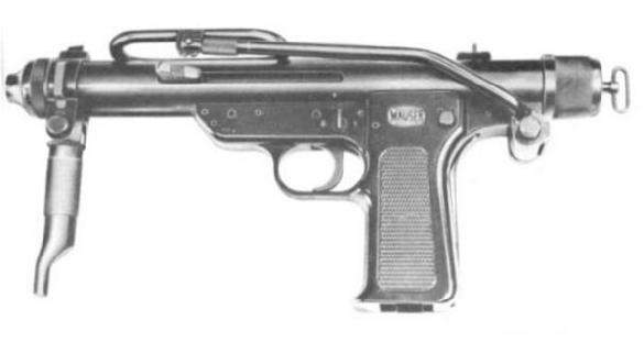 MAUSER MP-57 (Germany)