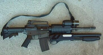 MasterKey Shotgun accessory