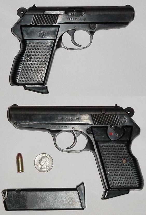 CZ-70 7.65mm aka .32ACP