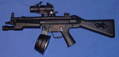 H&K-MP5N2 With Drum