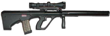 Steyr Aug Suppressed