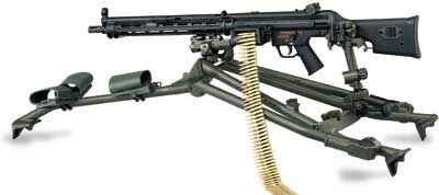 HK23E 5.56 Machine Gun