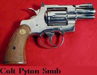 Colt Python Snubby