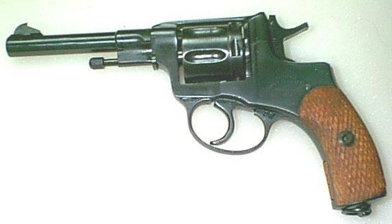 Nagant revolver 1895