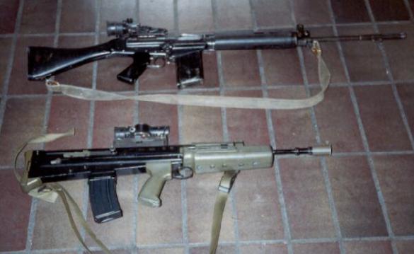 Enfield SA-80 & SLR