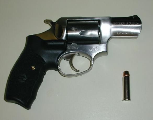 Ruger SP-101 .357 Mag w/ Lasergrips