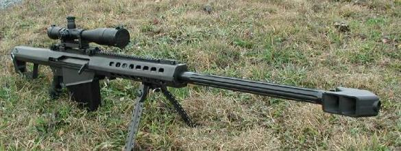 Barrett 82A1 .50 Cal