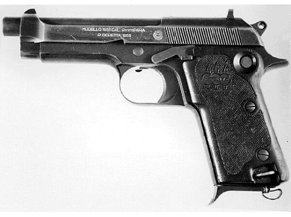 Beretta Model 1951 pistol