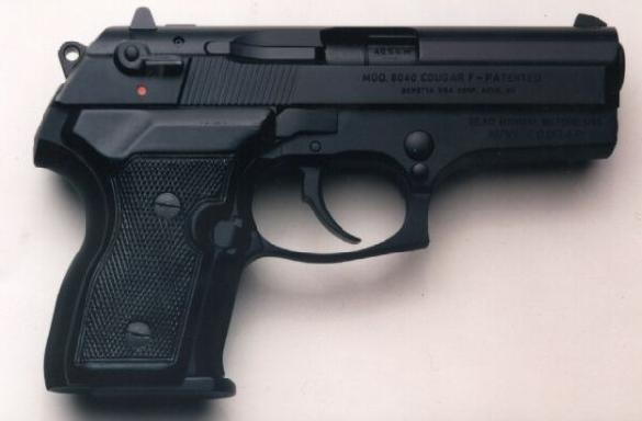 Beretta Mini Cougar Pistol