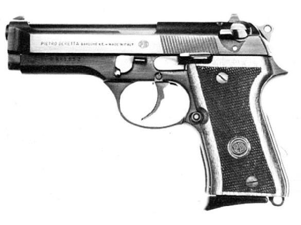 Beretta 98FS Target pistol