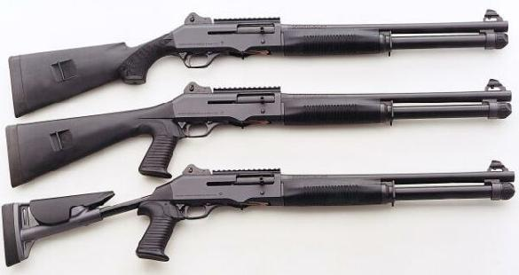 Benelli M4 Super 90 and M4 Super Black Eagle Tactical Shotguns