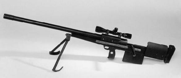 Helenius 12.7mm anti-material rifle