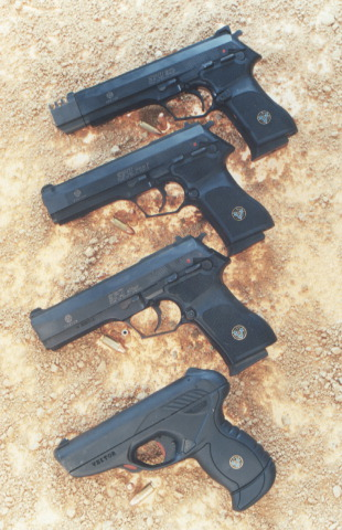 Vektor SP1 and SP2 pistols