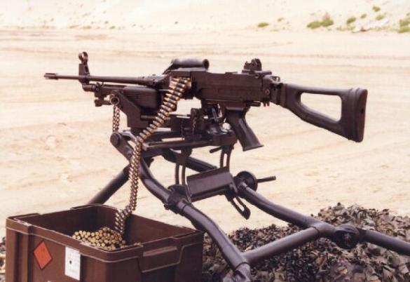 Vektor Mini SS light machine gun, 5.56mm