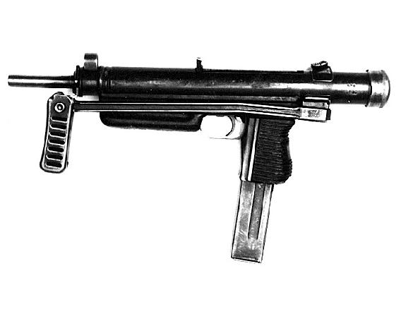 Czech Model 26 sub-machine gun, 9mm