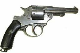 French 1873 revolver, called