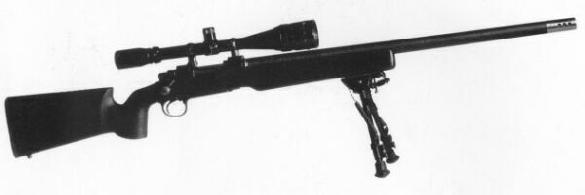 Christensen Arms Carbon tactical sniper rifle. 7.62 x 51