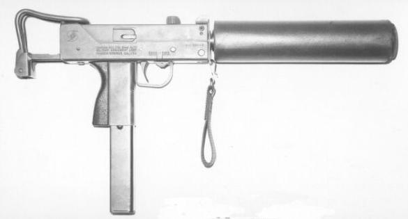 Ingram sub-machine gun
